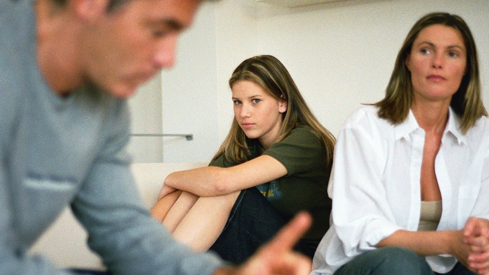 divorce affects children of different ages